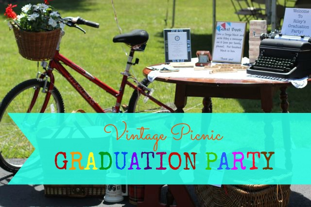 Our Life In A Click Entertaining Vintage Picnic
