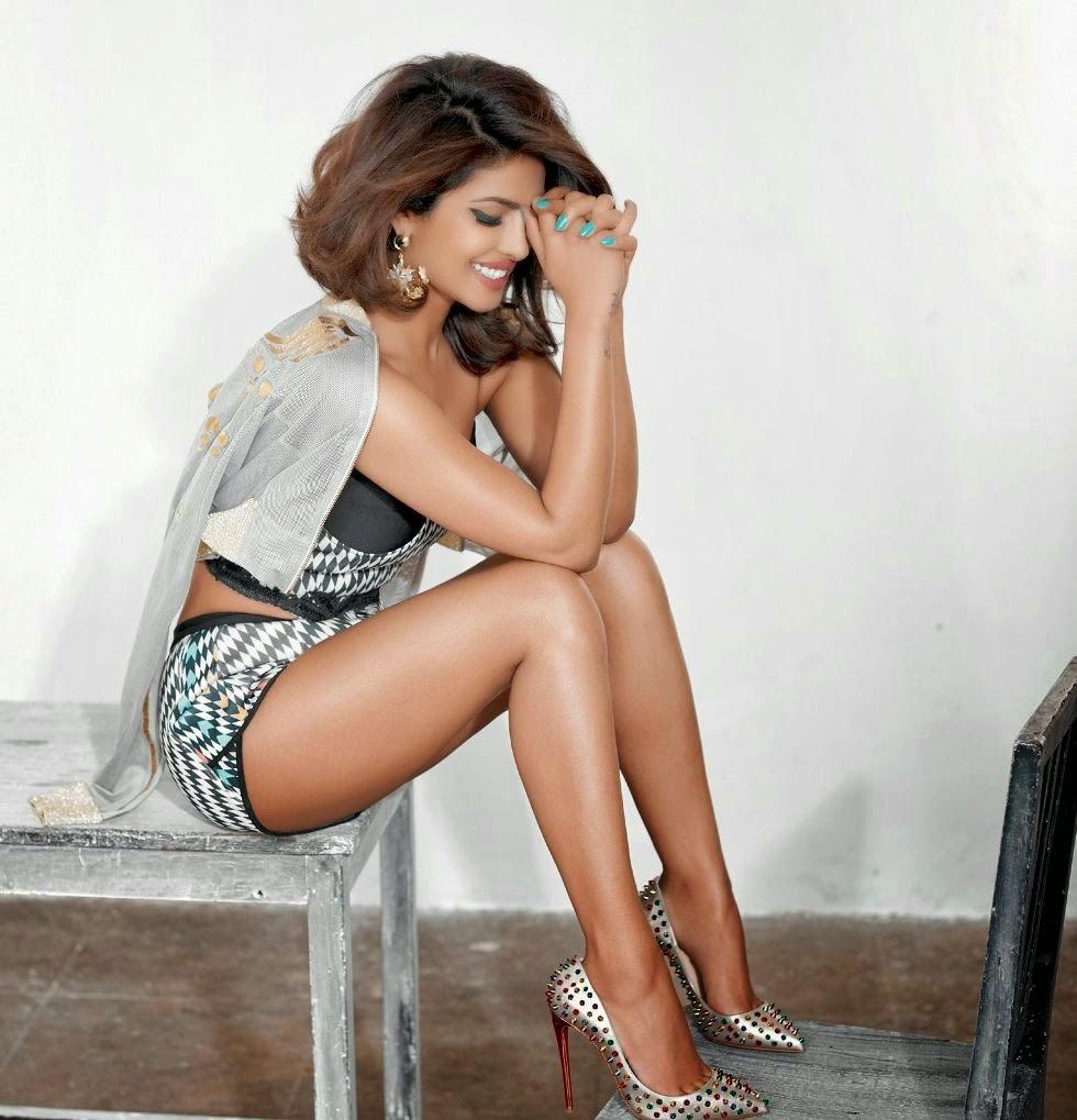 Priyanka Chopra hot photoshoot cosmopolitan india magazine 2015