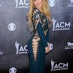 Shakira - 49th Annual Academy Awards Of Country Music in Las Vegas