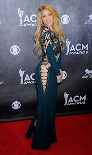 Shakira – 49th Annual Academy Awards Of Country Music in Las Vegas