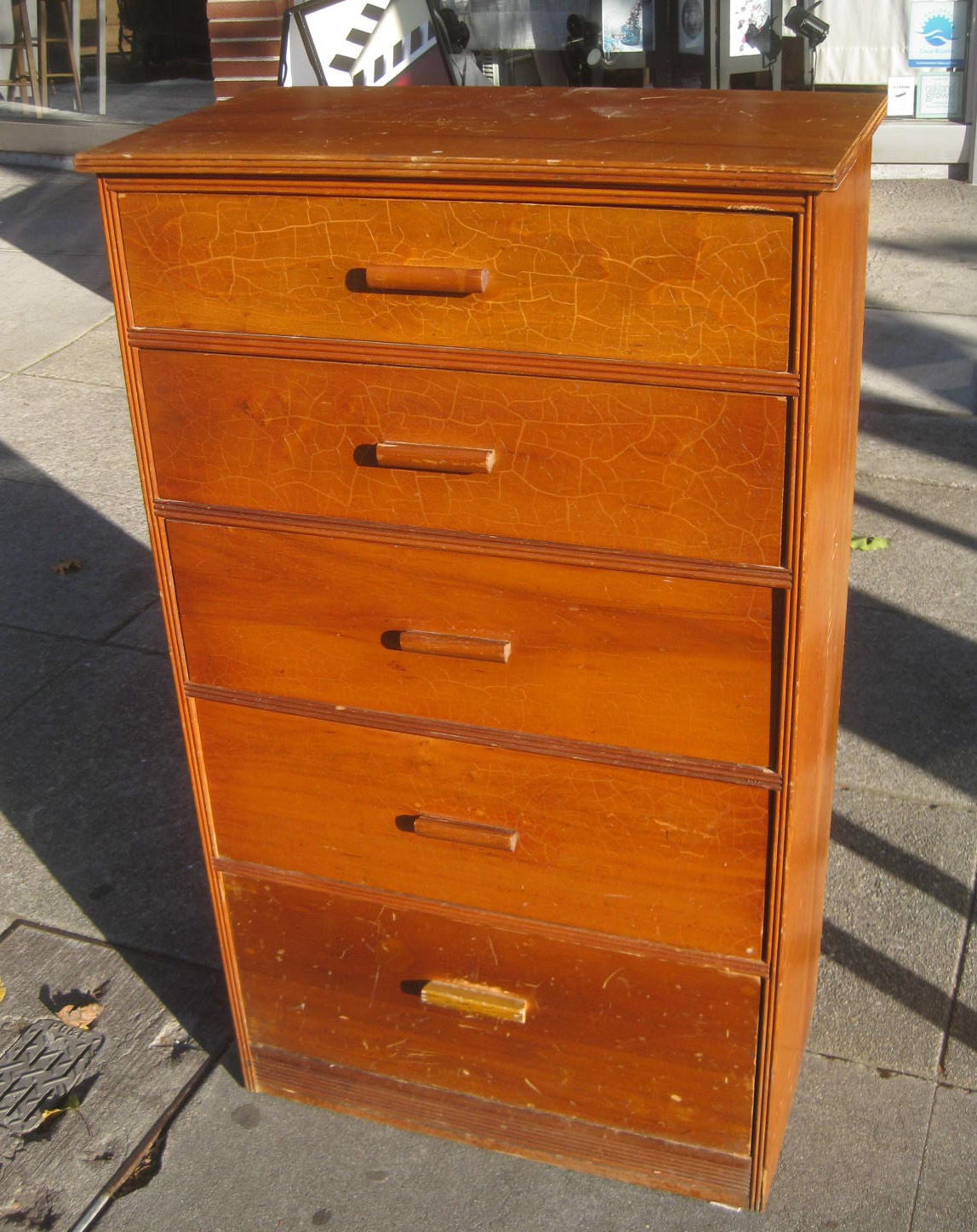 Uhuru Furniture Collectibles Sold Small Wooden Chest