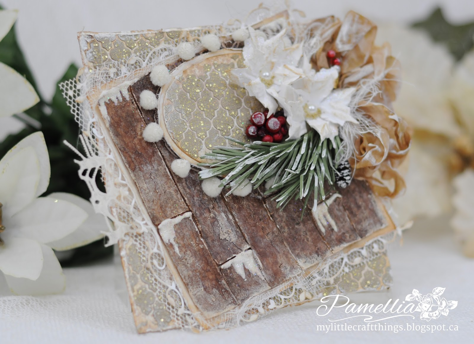 My Little Craft Things: Merry Christmas to a Dear Friend