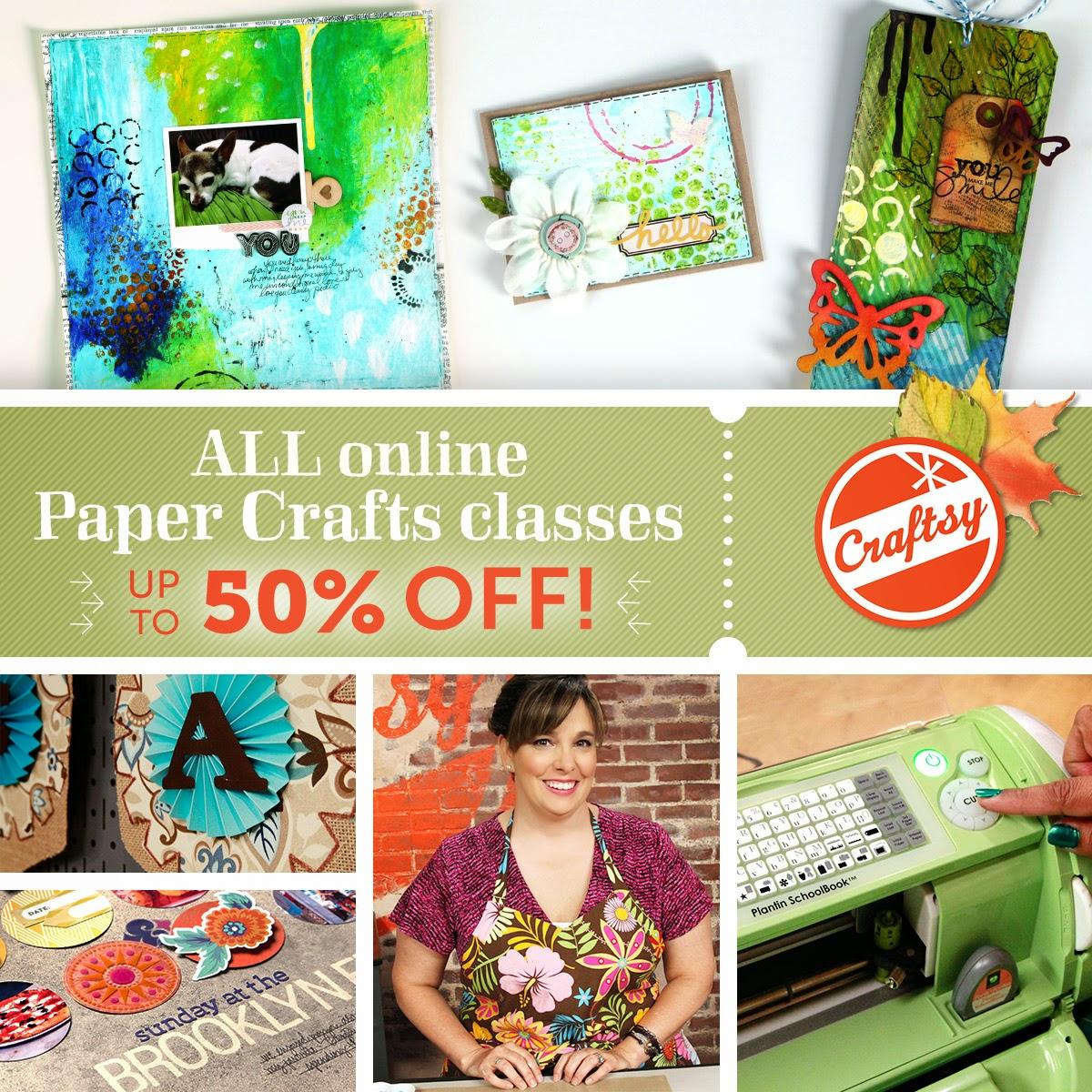 Craftsy Fall Sale