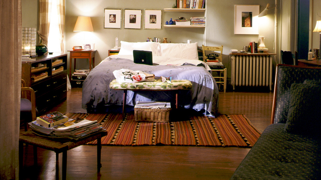 danielle windass carrie bradshaw s apartment. Black Bedroom Furniture Sets. Home Design Ideas