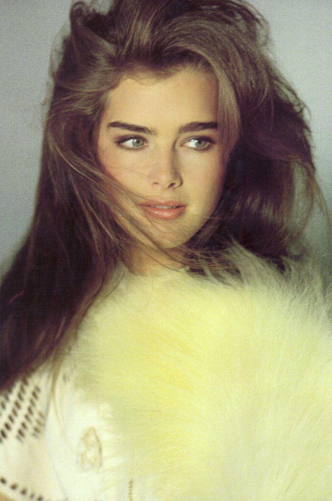 Beautiful Young Brooke Shields