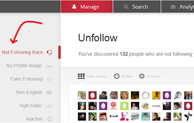 mass unfollow on twitter