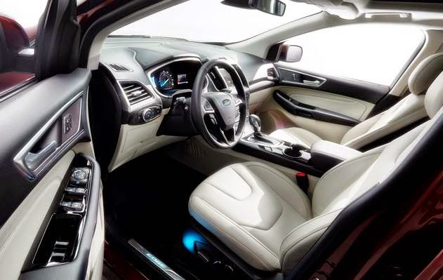 2015 Ford Edge Release Date USA Interior