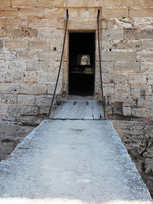 Castle drawbridge, Mallorca