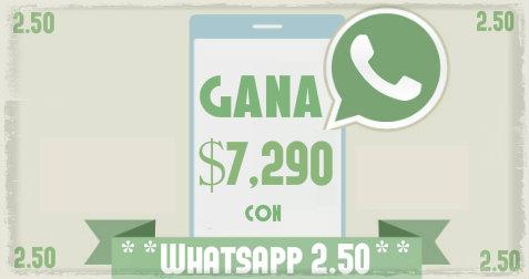 Gana dinero con tu Celular usando el Whatsapp