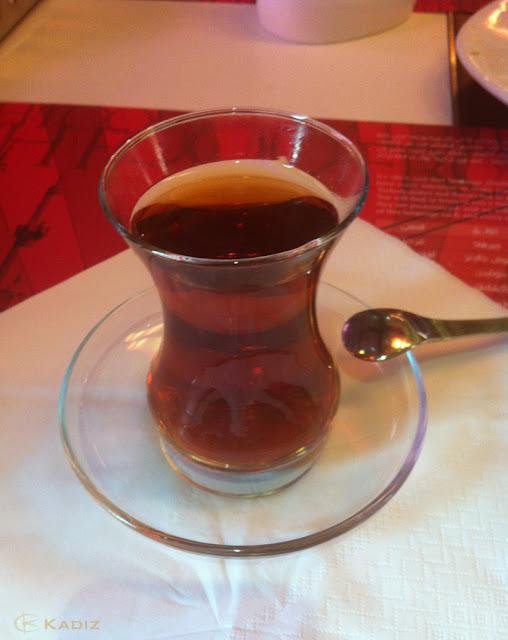 янтарный чай