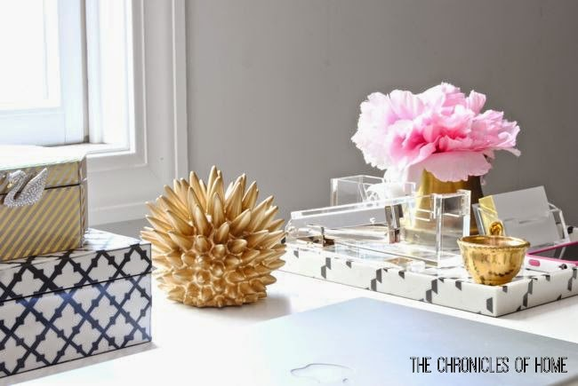 The Prettiest Desk Accessories Around  The Chronicles Of Home. Small Decorative Tables. Amazon Standing Desk. Sit To Stand Desk Reviews. King Size Bed With Drawers. Girls Desk Walmart. Metal Wood Desk. Beauty Salon Reception Desk. Storage Sofa Table