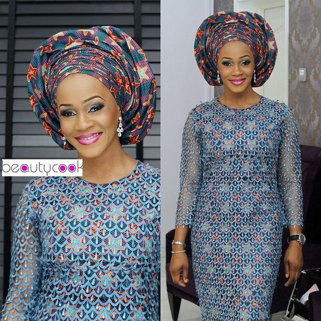 Ankara And Lace Design For Ladies Dezango Fashion Zone