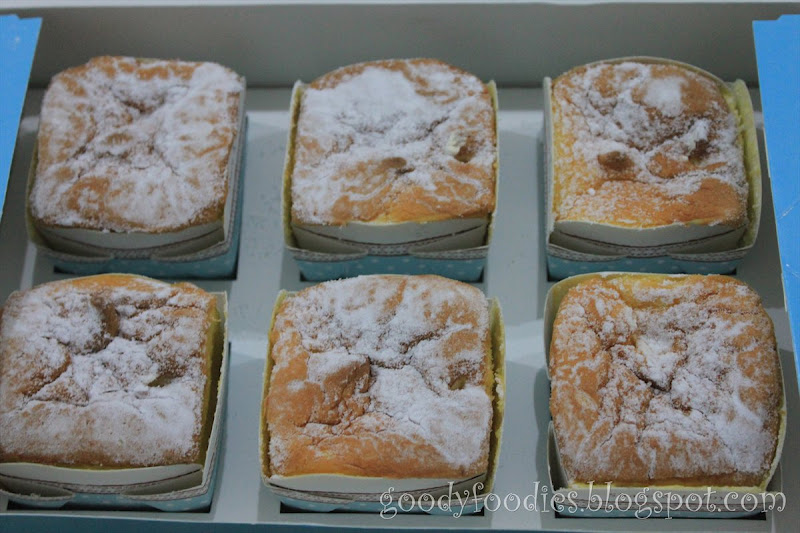 Goodyfoodies Hokkaido Cake Rt Pastry House Pavilion Kl