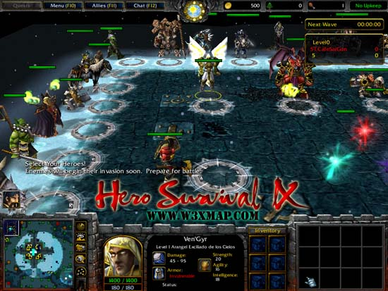 Wilderness survival warcraft 3 download