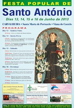 Cartaz de Santo António - Romé