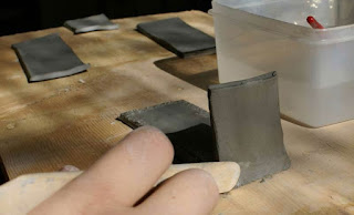 building clay box, clay lidded box, clay box construction