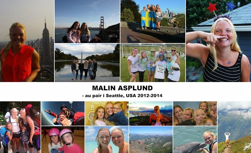 Au Pair i Seattle, USA 2012-2014