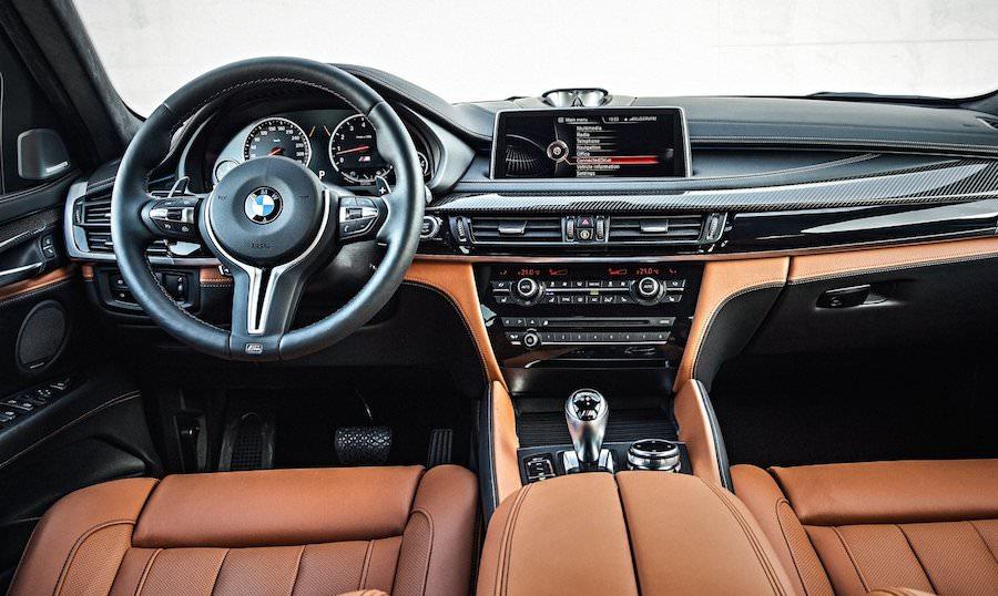 BMW X6Mのインテリア