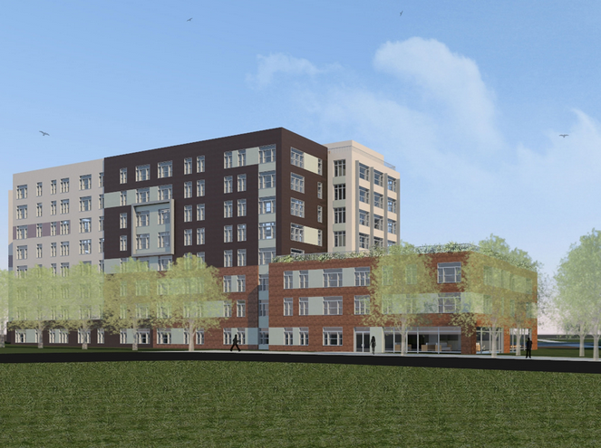 The ElectricWeb Network  Construction to Start on   M Soundview        L   M Development and The New York Housing  nership  the   million housing project will be developed under the New Housing Marketplace Plan
