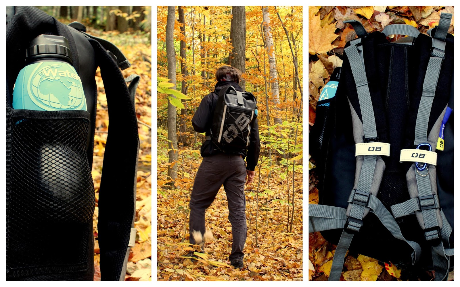 Overboard Waterproof Pro-Sports Backpack 30 Review   Going Solo ...