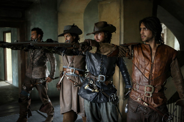 The Musketeers.