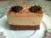 Kevert süti recept - Capuccinó habos szelet