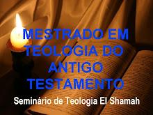 MESTRADO EM TEOLOGIA DO ANTIGO TESTAMENTO