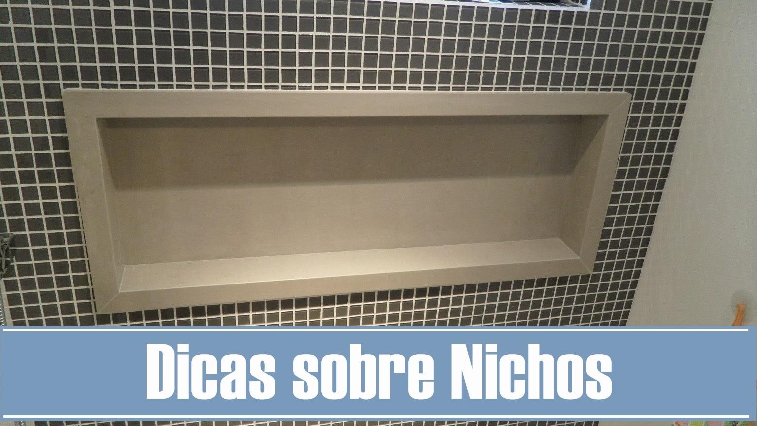 Meu Palácio de 64m² Tudo sobre nichos de banheiro -> Nicho Para Banheiro Toalhas