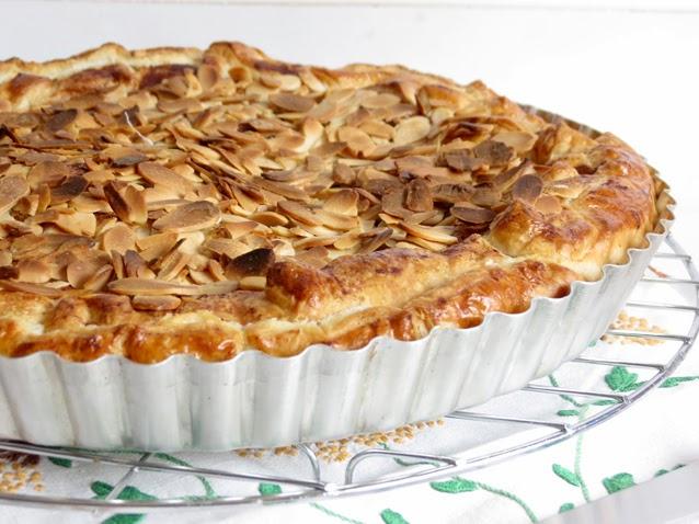 receita tarte de maçã rápida
