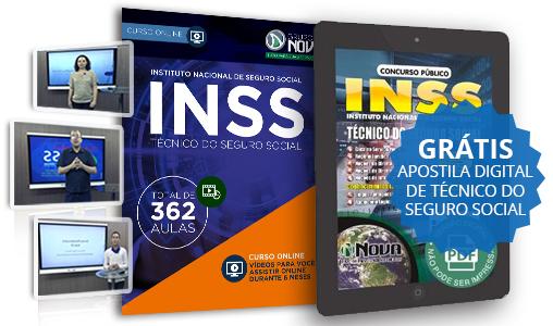 Curso Online INSS 2015 Apostila INSS 2015 PDF Grátis Download