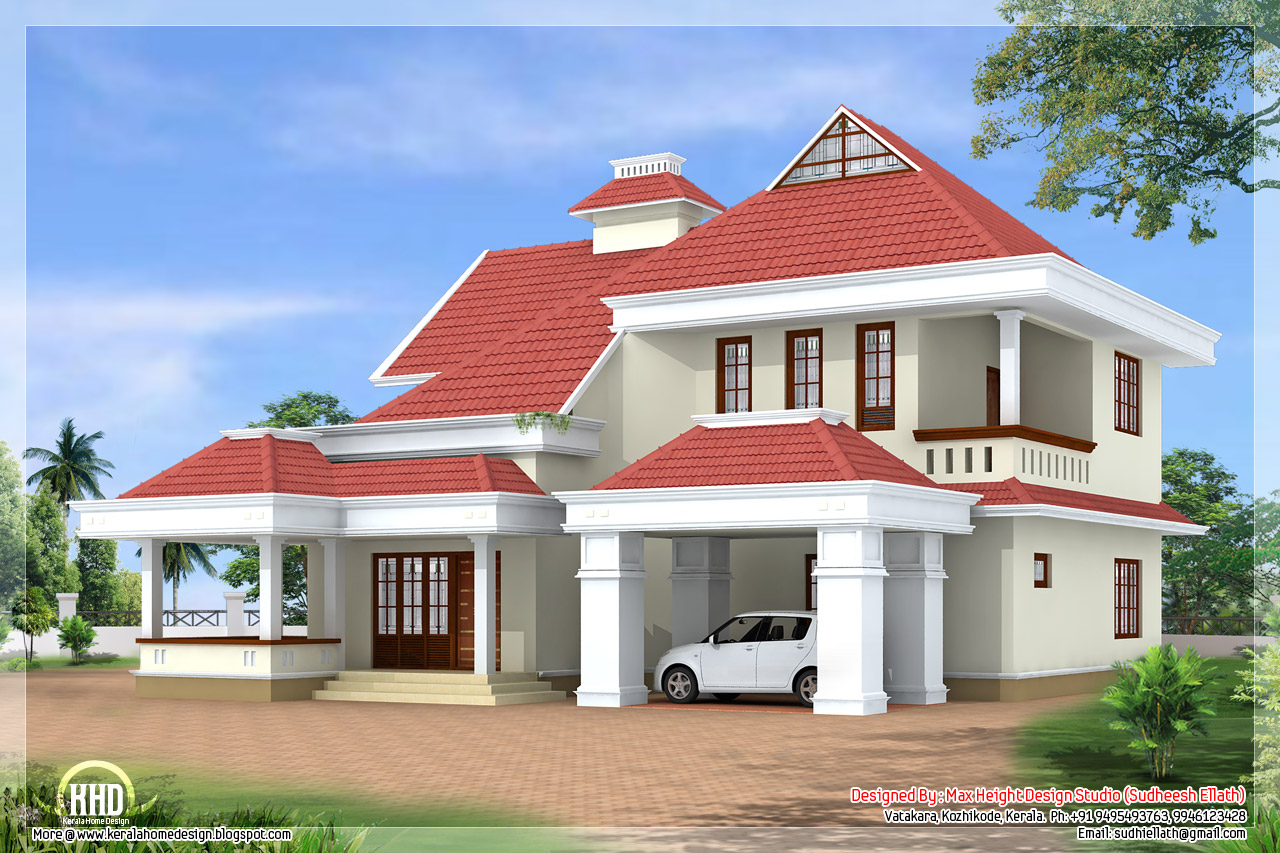 2900 4 Bedroom Home Design Kerala Home Design