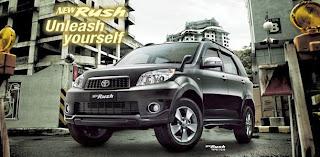 Gambar Mobil Toyota Rush Terbaru