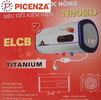 Trung tâm bảo hành bình nóng lạnh Picenza tại Thái Nguyên