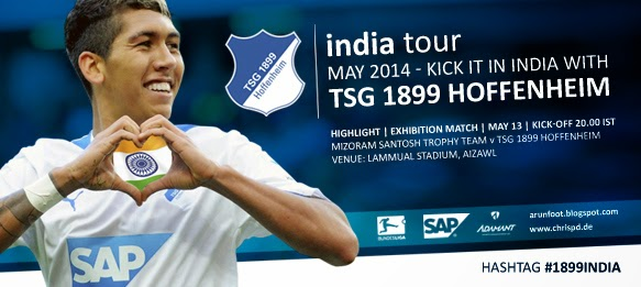 Bundesliga side TSG 1899 Hoffenheim to arrive in India on Monday, May 12