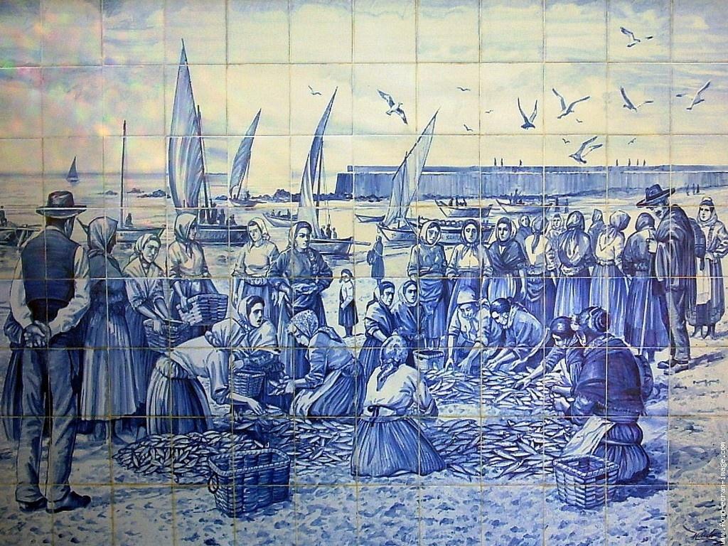 Clothespeggs azulejos for Azulejos de portugal