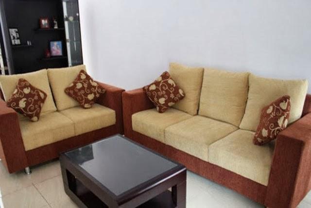 model sofa ruang tamu minimalis contoh disain rumah