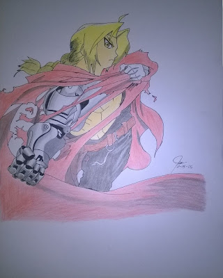 full metal alchemist colored