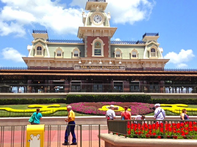 Magic Kingdom Train Station Main Entrance