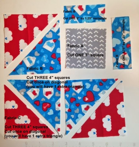 Life in the Scrapatch: Airmail Envelope Quilt Part 3 is up ~ and ... : envelope quilt pattern - Adamdwight.com