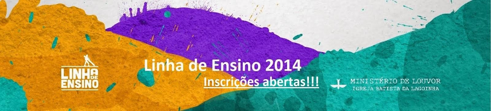 Linha de Ensino 2015.