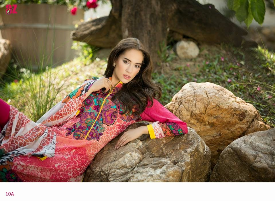 Latest Ayesha-Zara-Summer-Lawn-Dresses