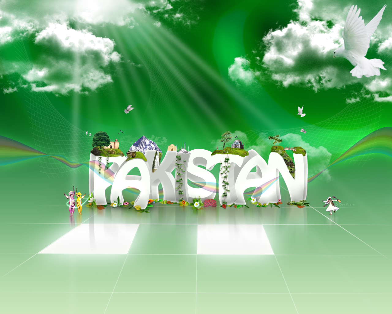 Pakistan flag wallpapers collection for Home wallpaper karachi