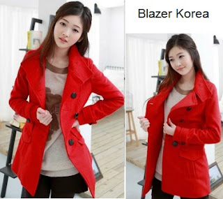 Model Blazer Wanita Korea