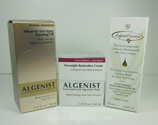 december favorites moisturizers algenist and supercrema