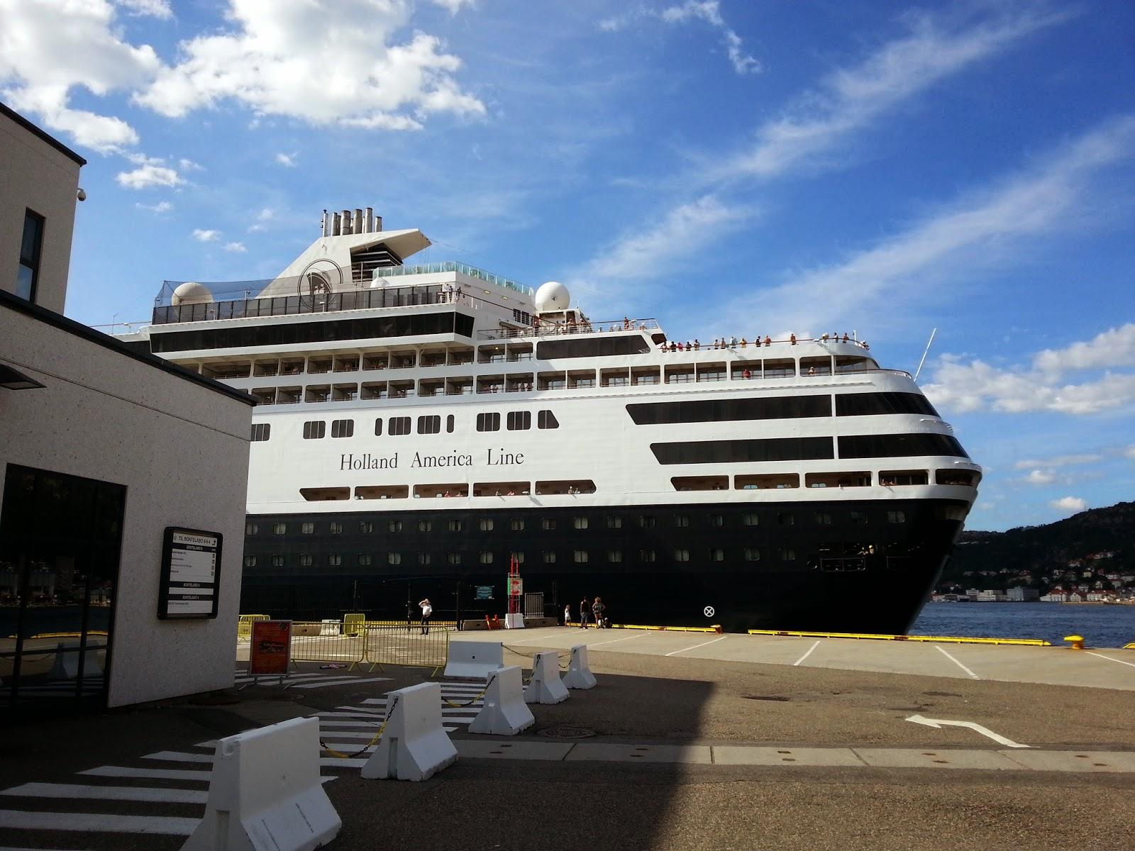 Cruise Ship Ryndam in Bergen