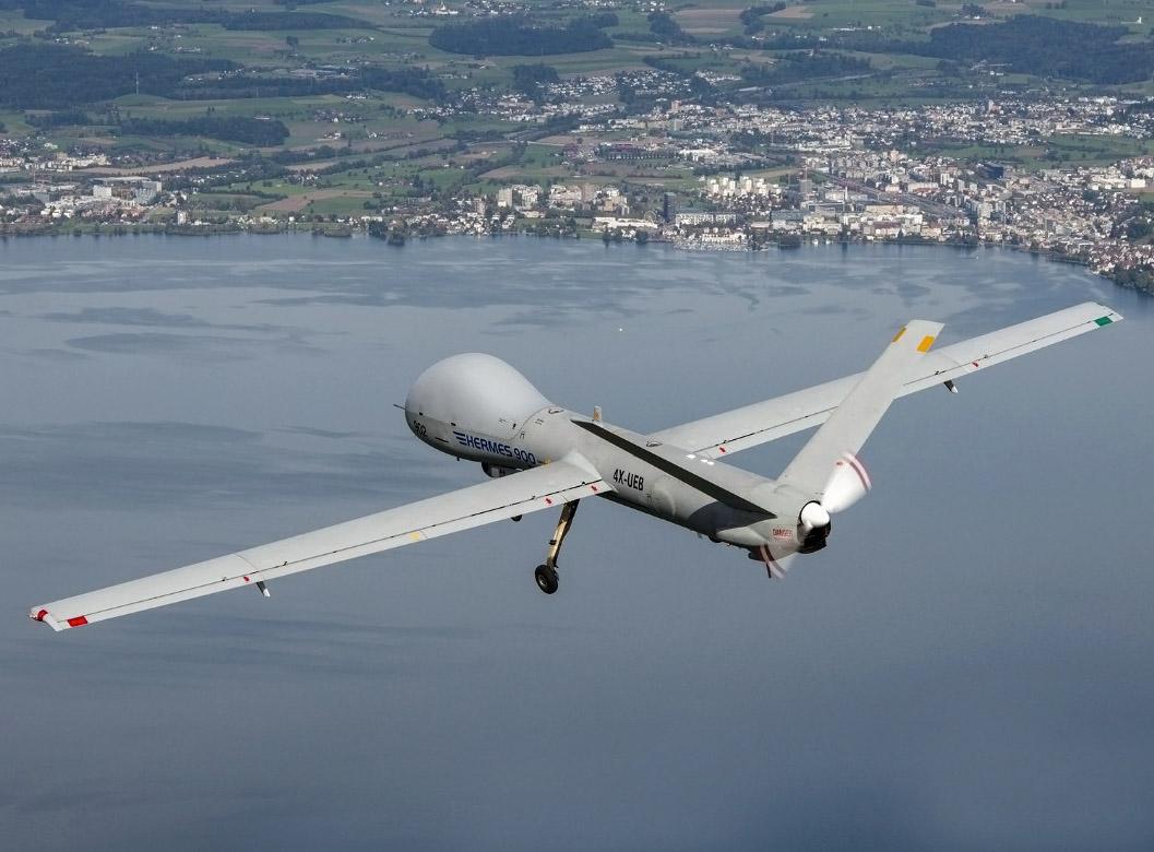 La Fuerza Aérea Colombiana recibió sus sistemas de Aviones Remotamente Tripulados (ART) Hermes 900.