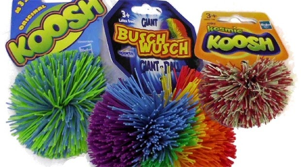 ... das Bolas Fluffy (ou Koosh)