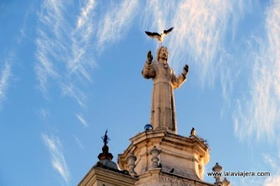 Monumento Sagrado Corazon, Marchena