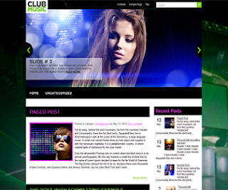 clubmusic_blogger_template