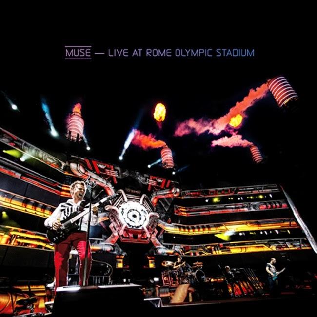 "Płyta ro(c)ku 2013 wg czytelników CNR - Muse ""Live At Rome Olympic Stadium"""